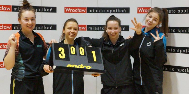 tenis stołowy KU AZS UE Wrocław